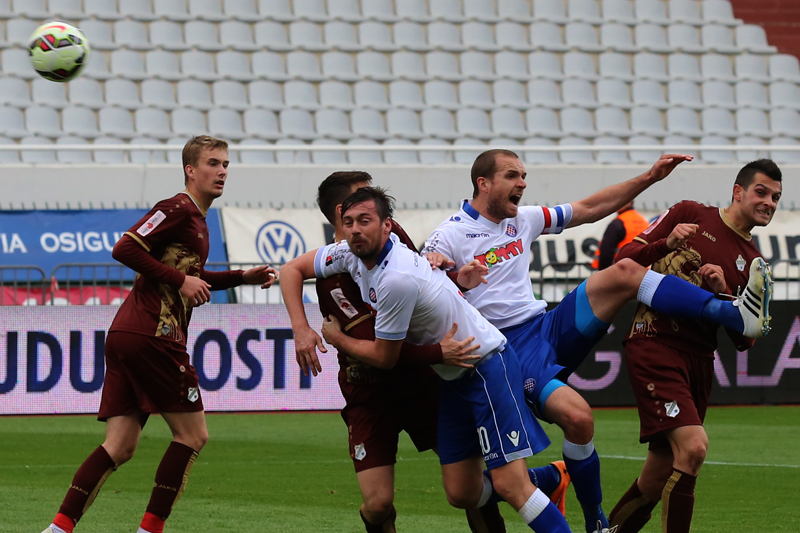Hajduk - Rijeka 1:2