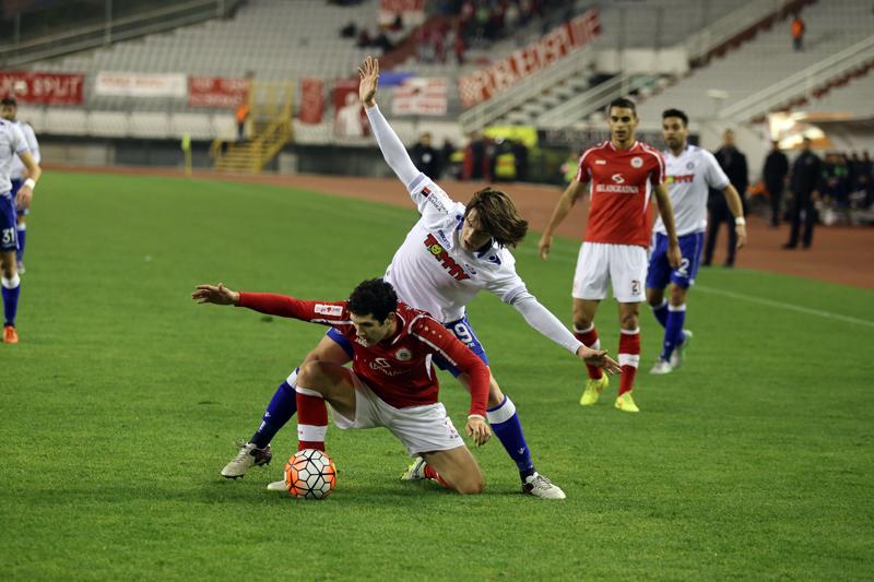 Hajduk - Split 0:0 I Veljko Martinović
