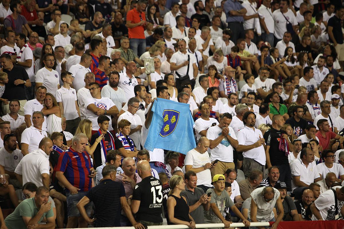 Hajduk - Everton / foto: Bruno Karadža
