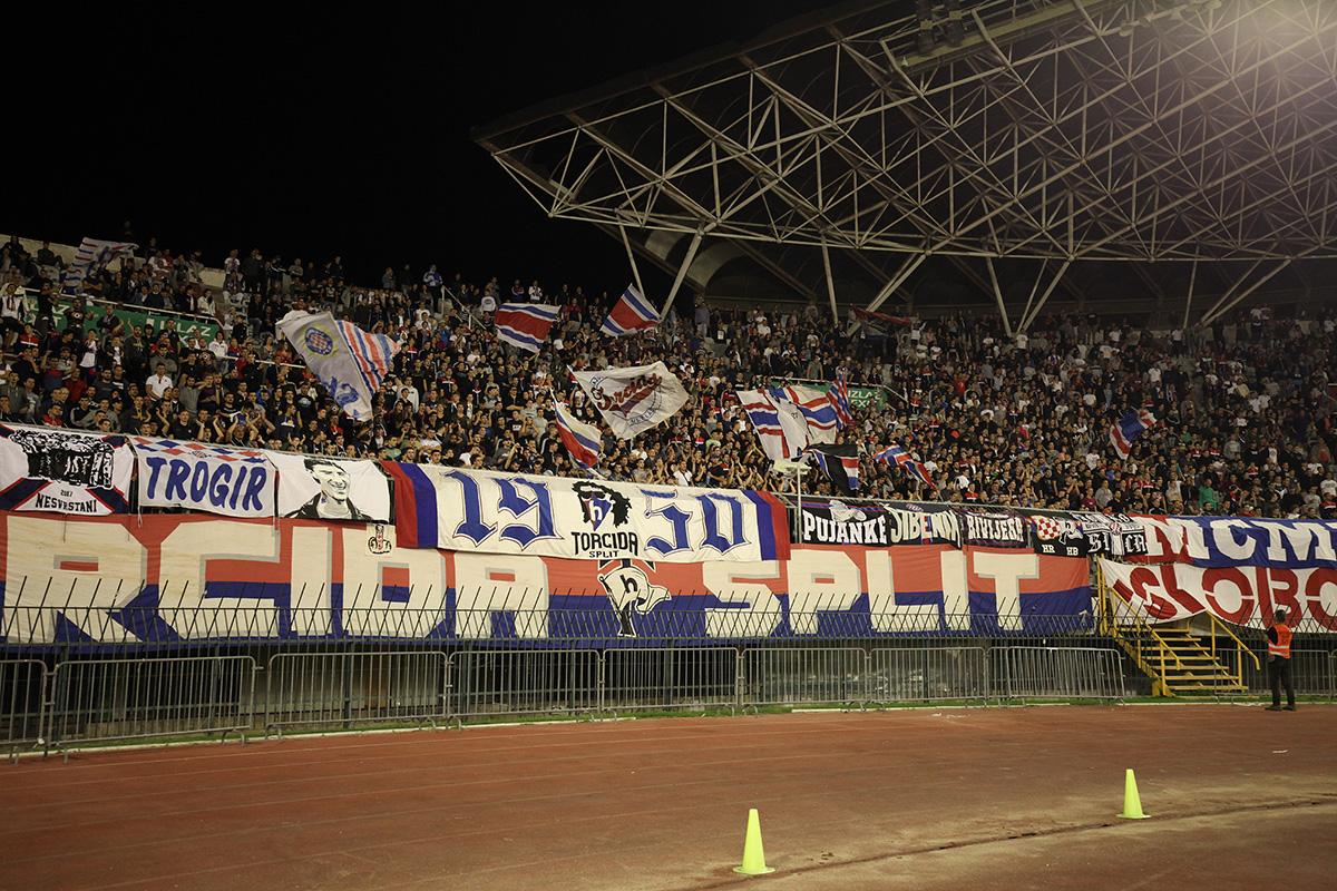 Hajduk - Inter 2:0 / foto: Bruno Karadža