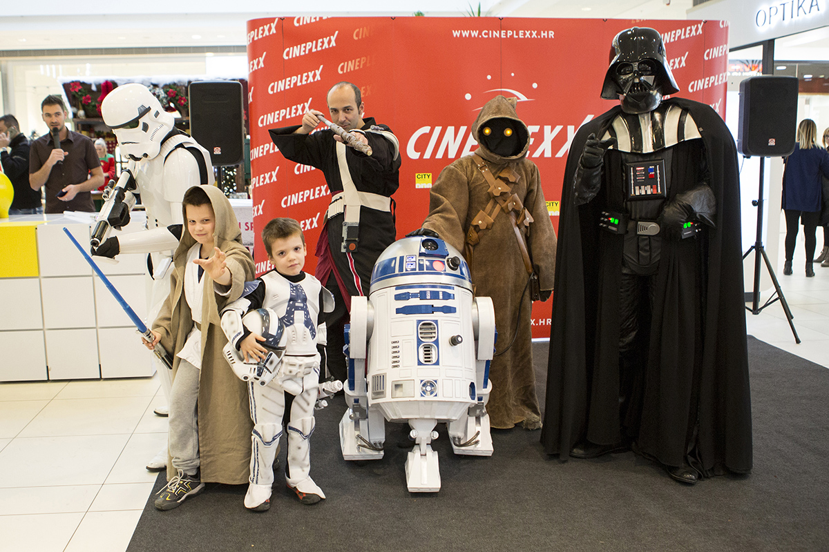 Star Wars dani okupili legendarne likove u City Center one