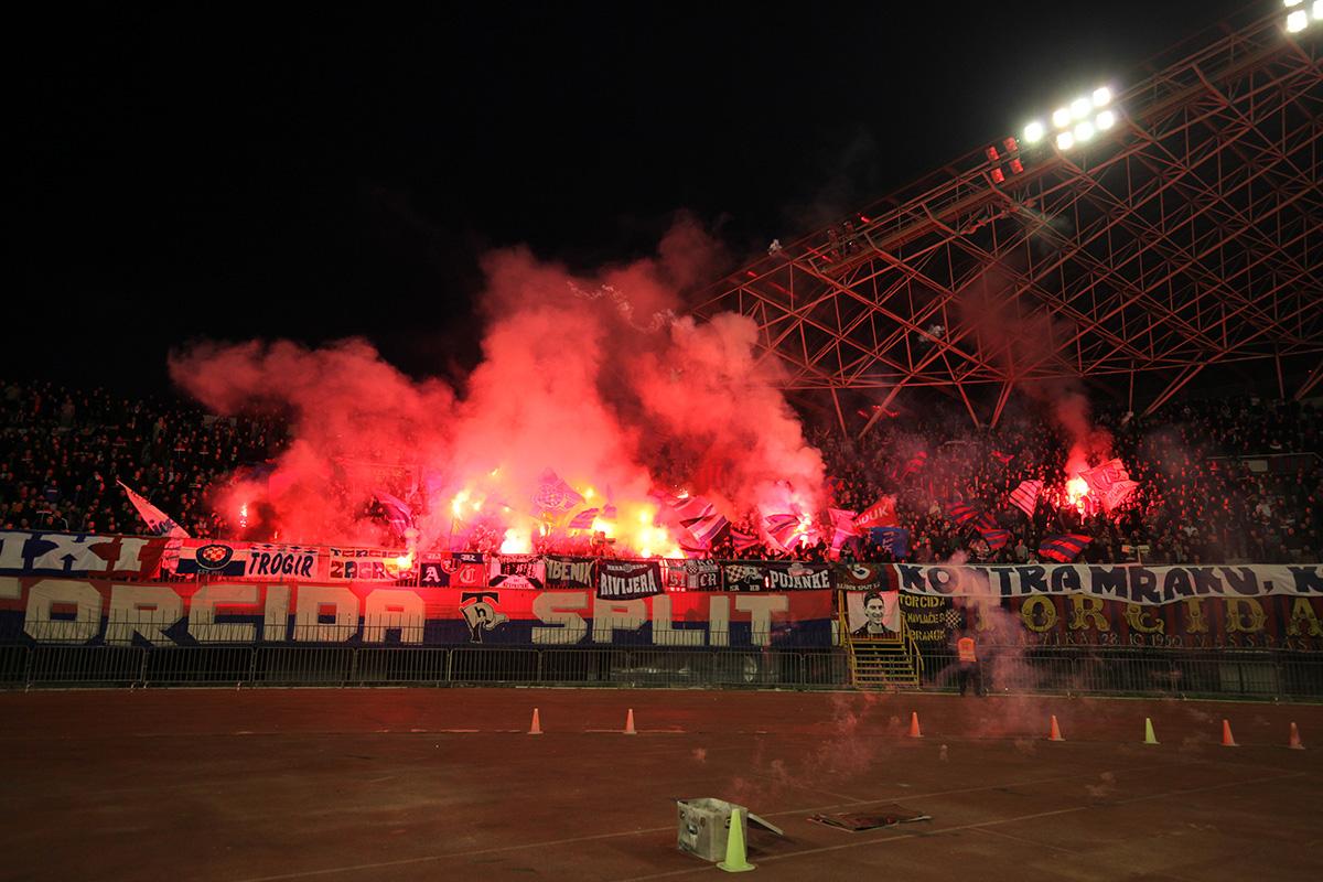 Hajduk - Istra 3:2 / foto: Bruno Karadža