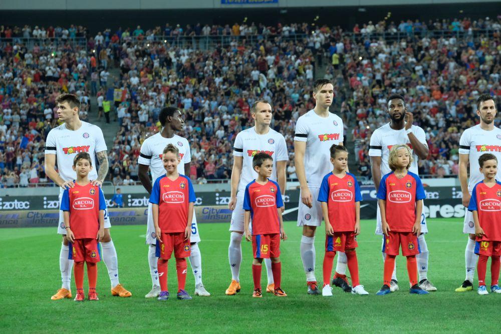 FCSB - Hajduk 2:1 | Foto: Miro Gabela / Hajduk.hr