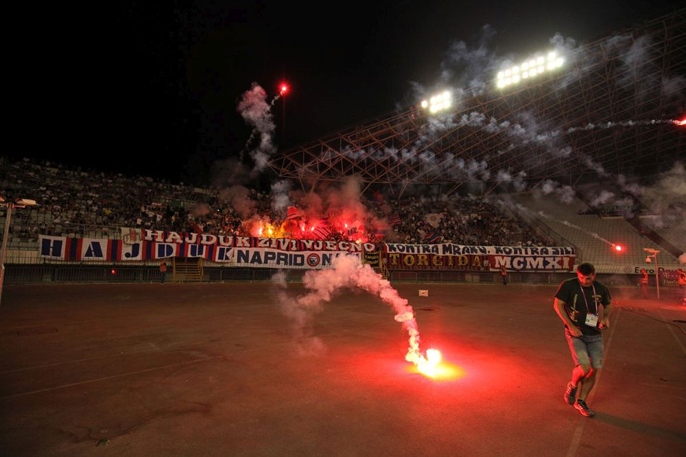 Hajduk - Gorica 0:2 / foto: Bruno Karadža