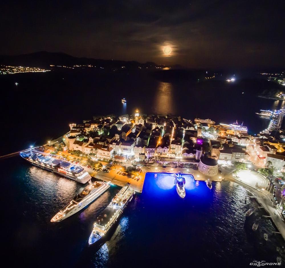 Korčula   Foto: Cro Drone