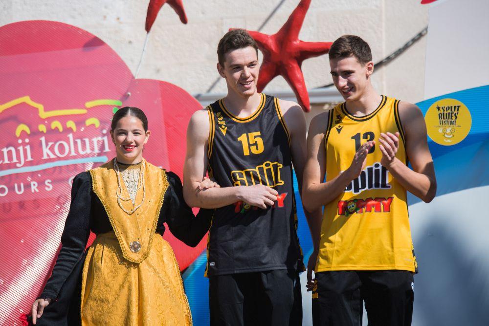 Predstavljanje momčadi KK Split