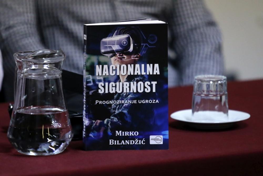 Promocija knjige 'Nacionalna sigurnost' | Foto: Veljko Martinović