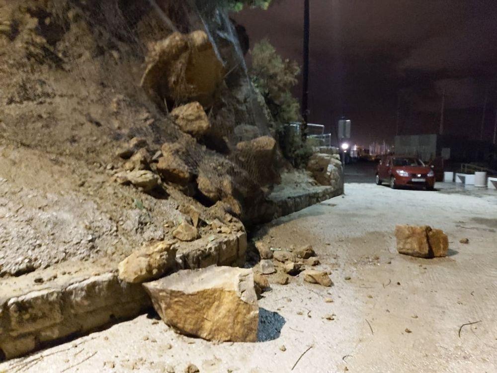 Odron stijena na Firulama