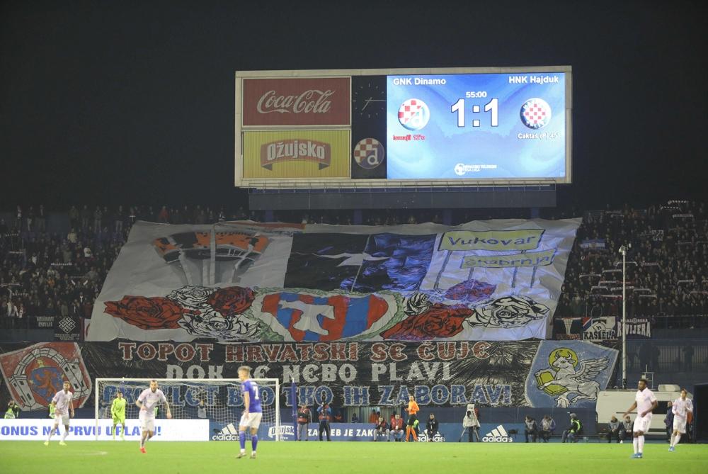 Dinamo - Hajduk 1:1   Foto: Robert Matić / HNK Hajduk