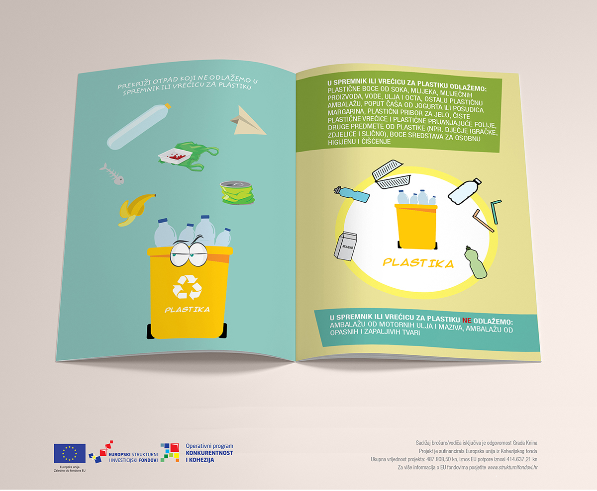Projekt 'Eko regija (K-V-P-B-T-K): Provedba izobrazno-informativnih aktivnosti o održivom gospodarenju otpadom na području Knina, Vrgorca, Pirovca, Biskupije, Tribunja i Kijeva'