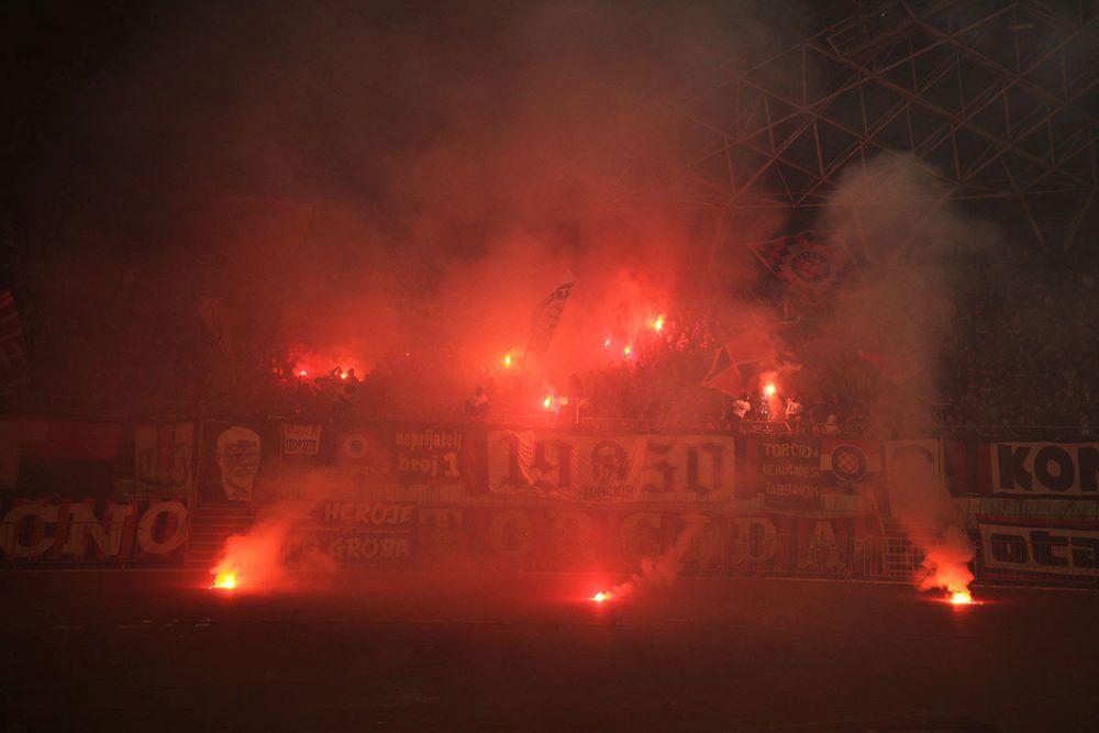 Hajduk - Rijeka 0:4 / foto: Bruno Karadža