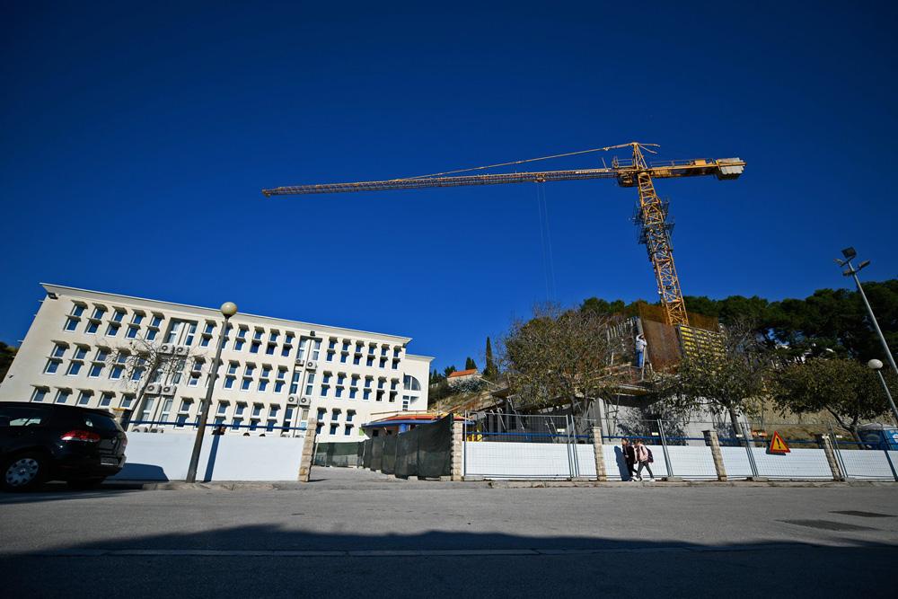 Gradnja OŠ Kamen-Šine
