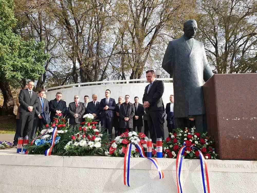 Obilježavanje 20. obljetnice smrti dr. Franje Tuđmana