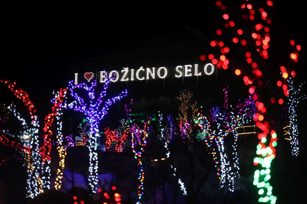 Božićno selo   Foto: Veljko Martinović