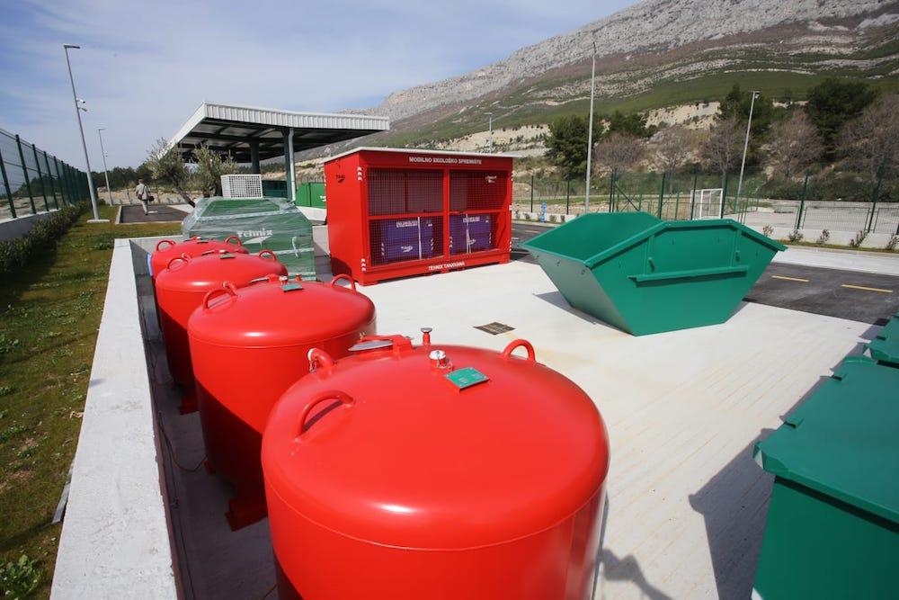 Reciklažno dvorište Solin | Foto: Veljko Martinović
