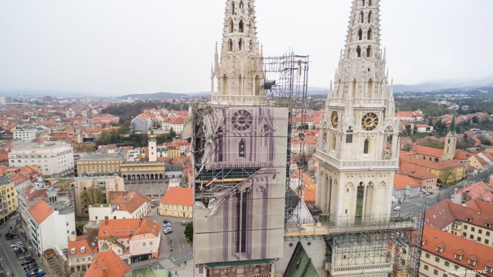 Zagrebačkla katedrala | Foto: Cro Drone