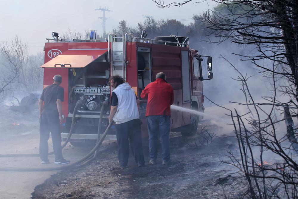 Požar Kaštel Sućurac | Foto: Veljko Martinović