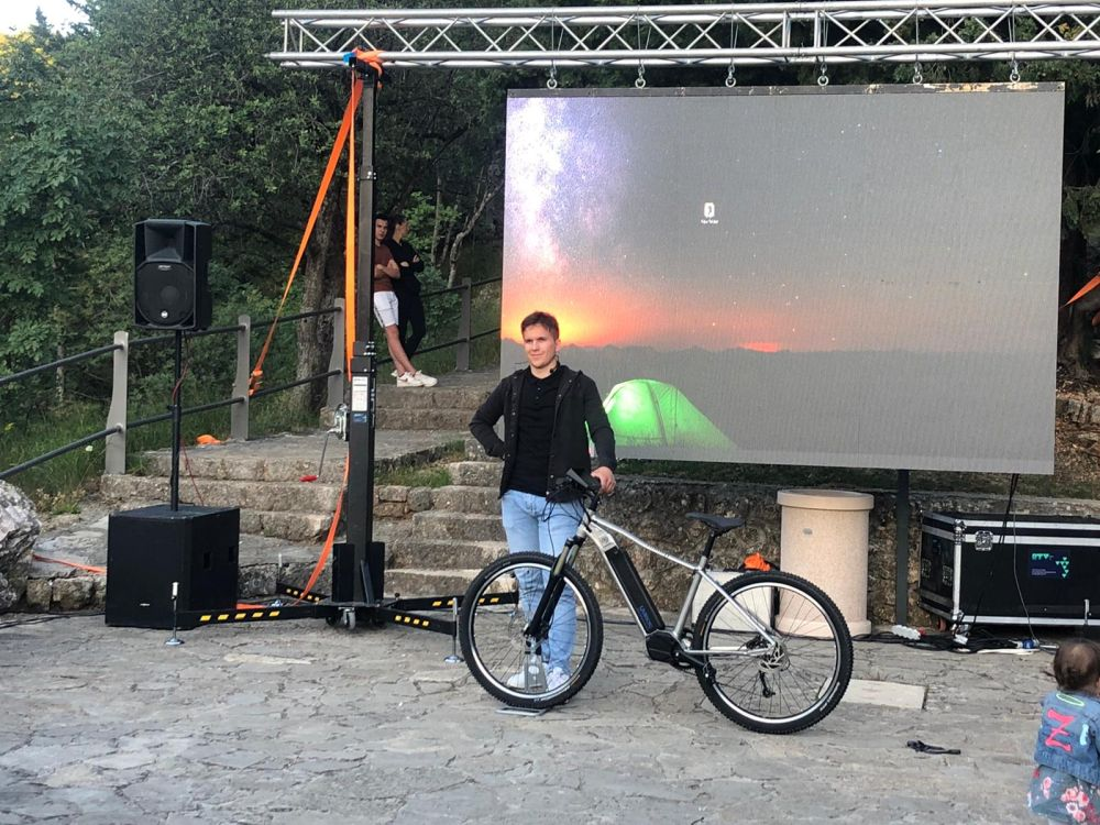 Električni bicikl 'Guideb' | Foto: Veljko Martinović
