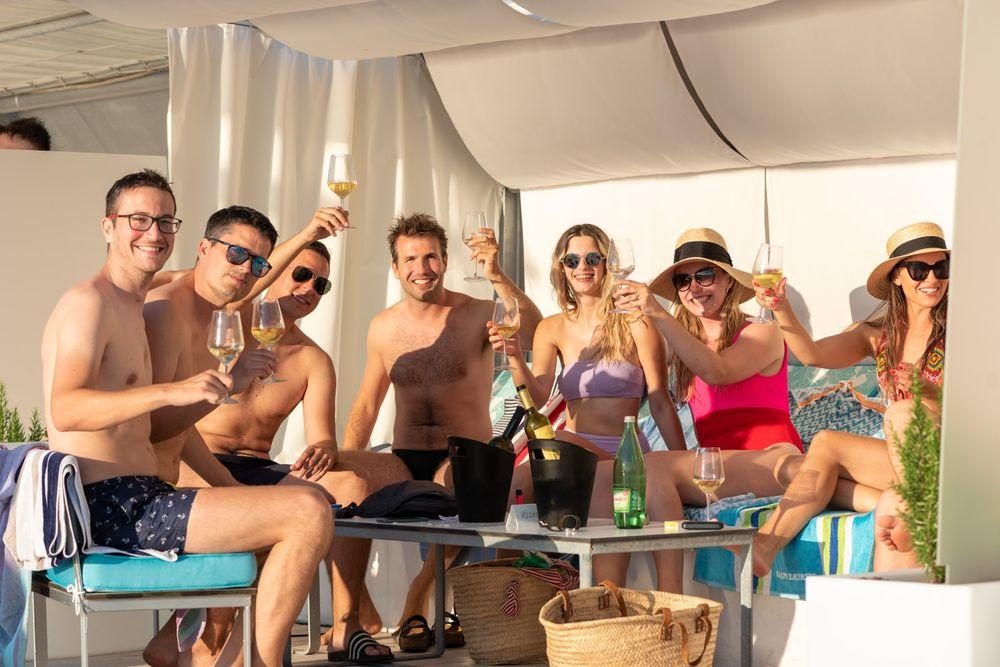 Jadran bar - after beach party