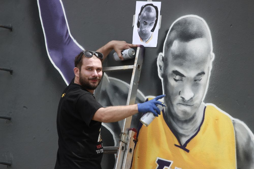 Kobe Bryant dobio prvi mural u Hrvatskoj