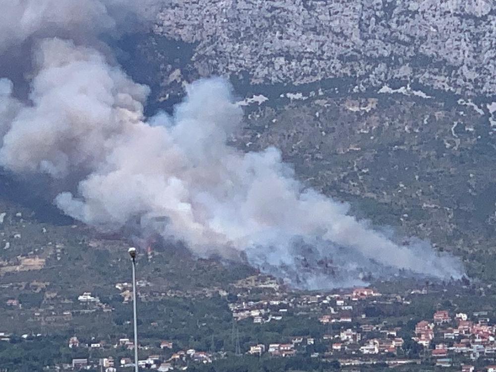 Požar na Kozjaku