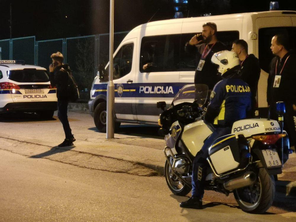 Policija čuva hajdukovce