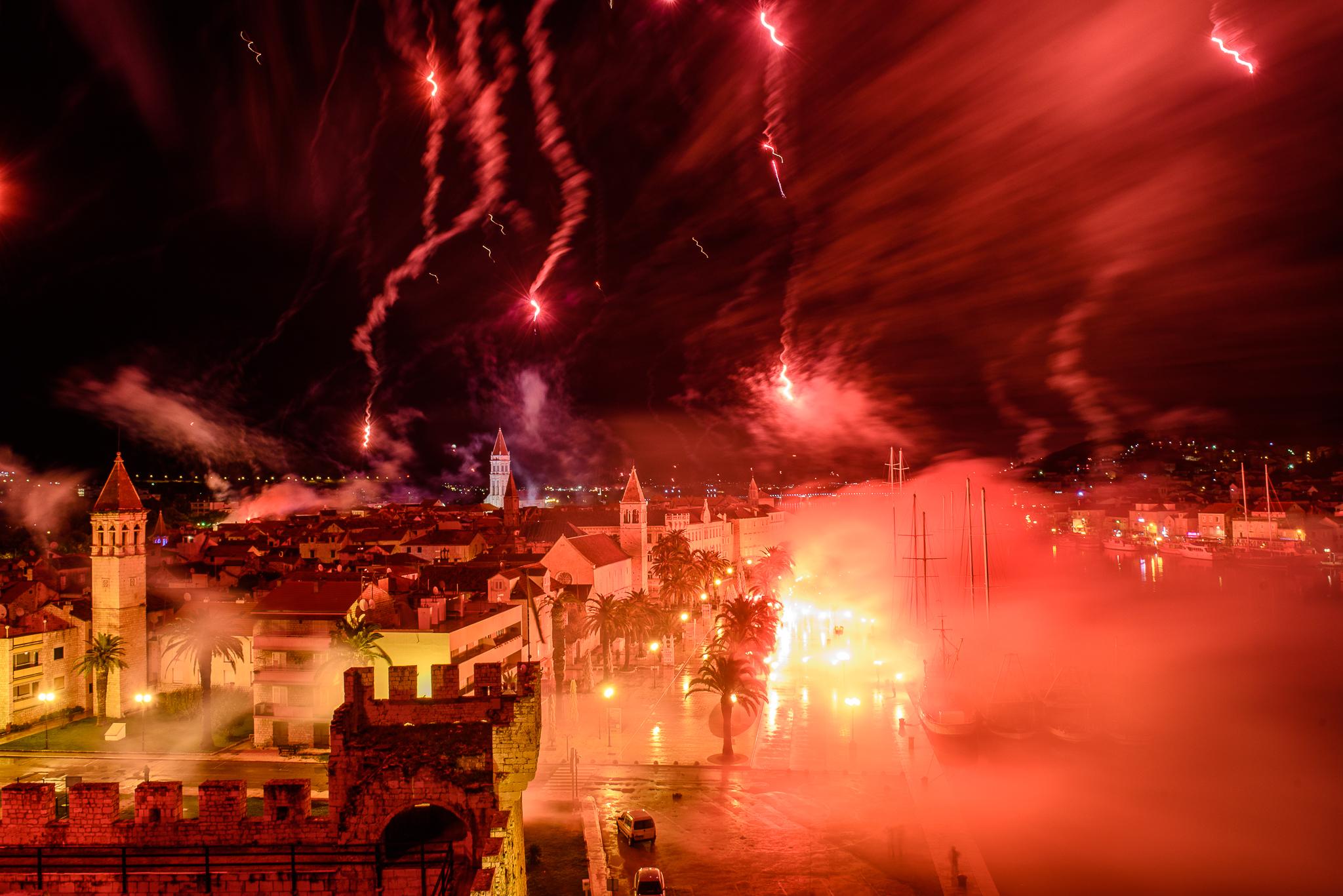 Proslava Torcidinog rođendana u Trogiru | foto: Antonio Miše i Deni Lokas
