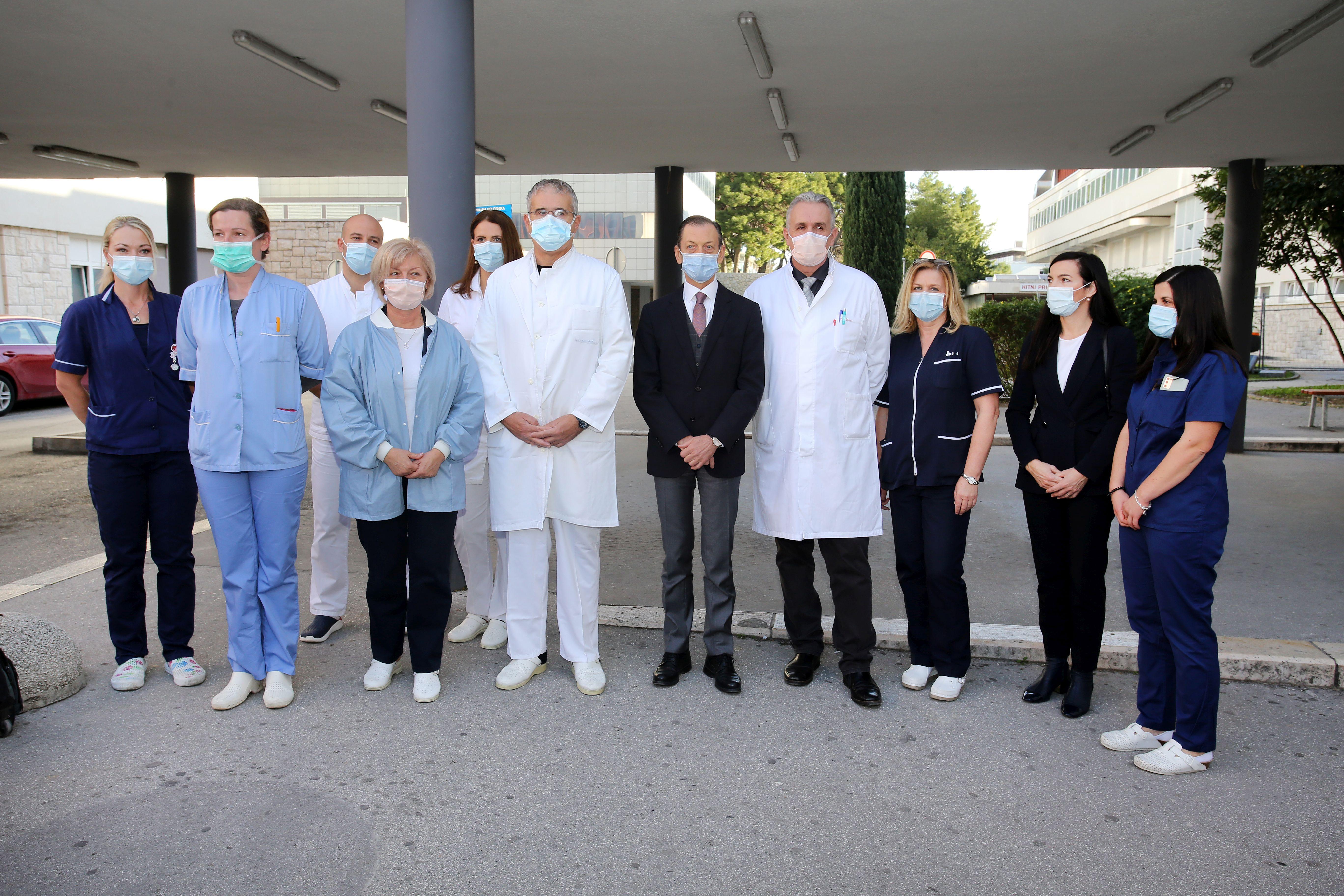 U KBC-u Split transplantirana rožnica I Foto: Veljko Martinović