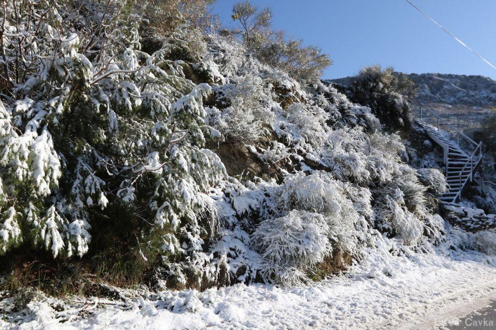 Snijeg u Rupotinama / foto: Ivica Čavka