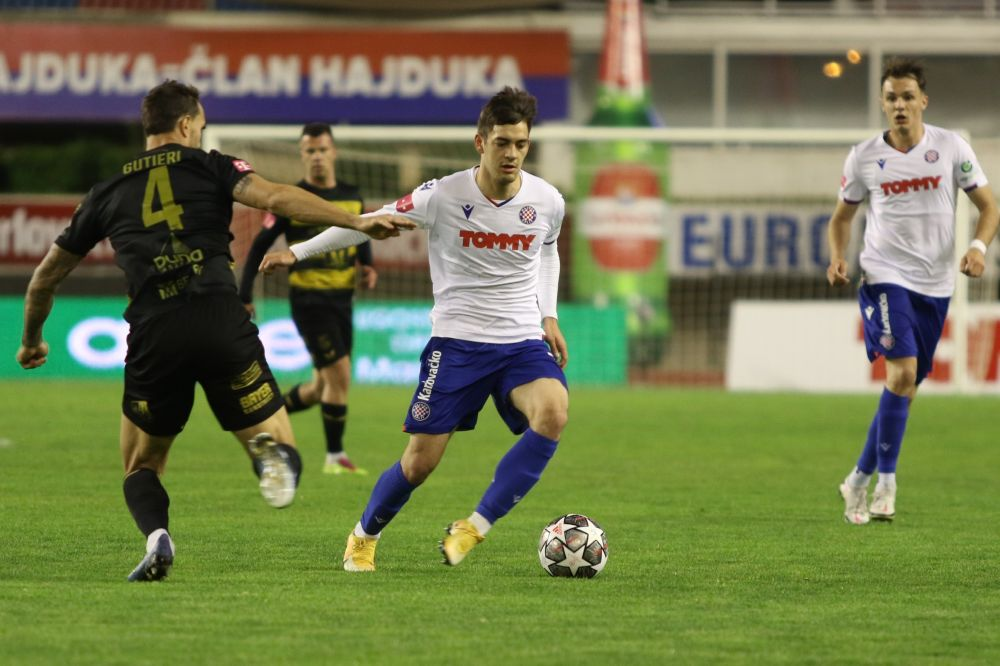 Hajduk - Osijek / foto: Ivica Čavka