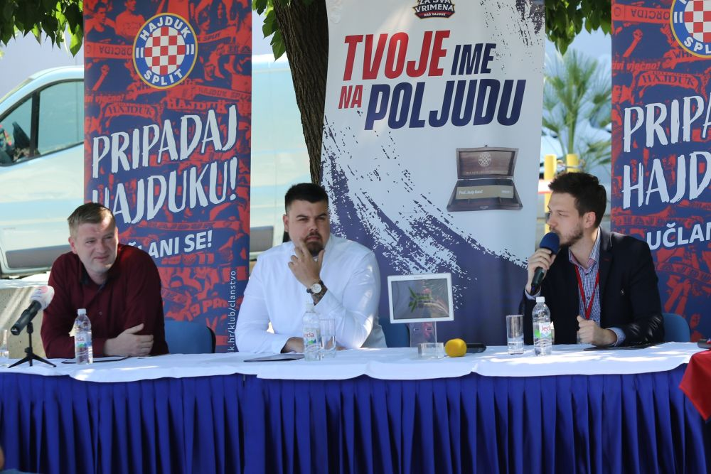 Naš Hajduk / foto: Ivica Čavka