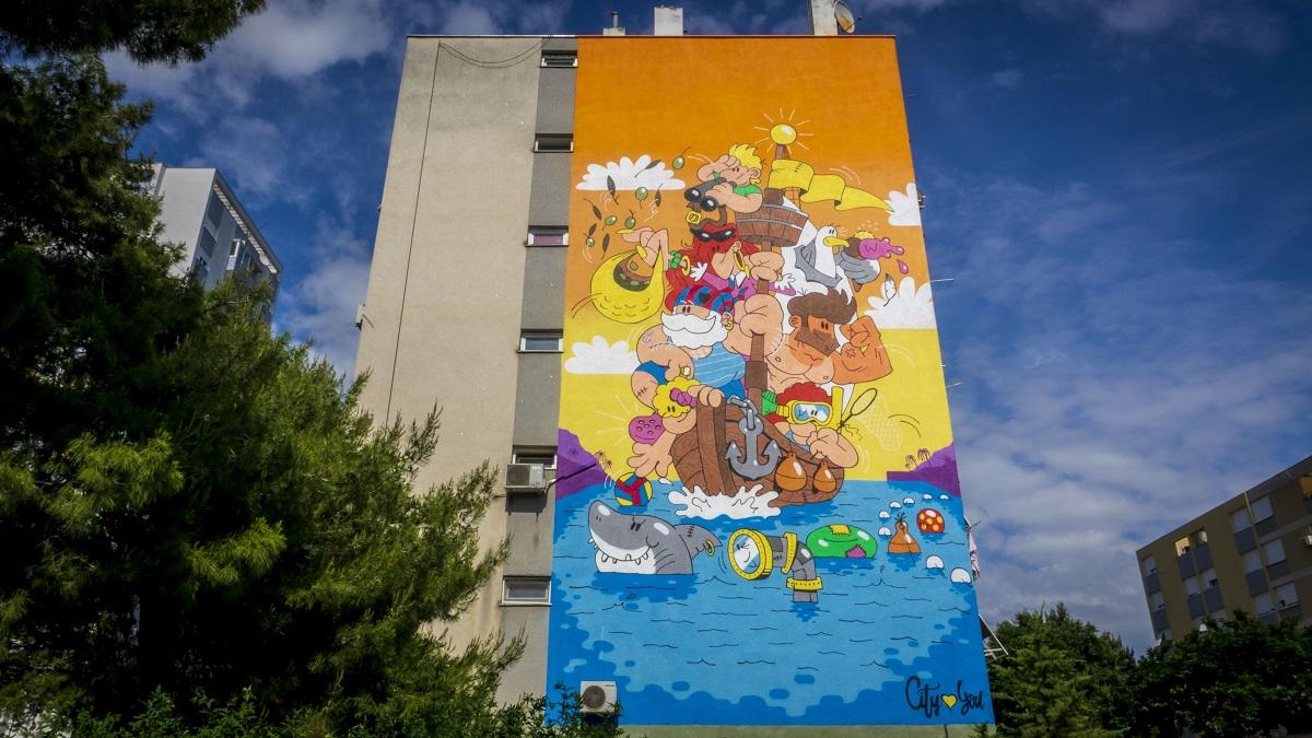 Mural   Foto: Graffiti Na Gradele
