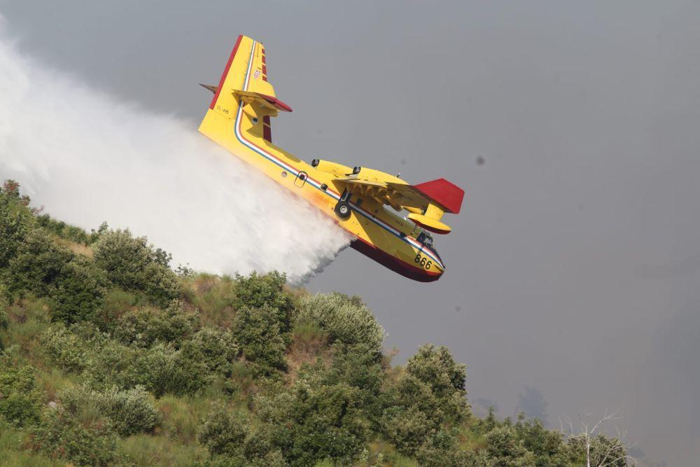 Požar u Segetu I Foto: Veljko Martinović