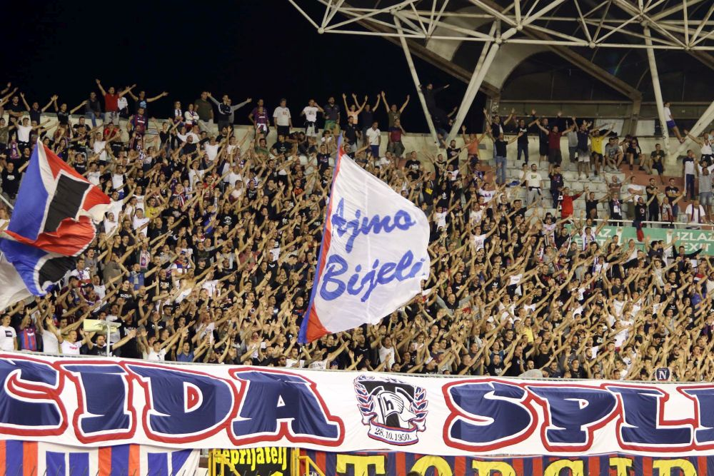 Hajduk - Lokomotiva 27.9.2021. / foto: Bruno Karadža