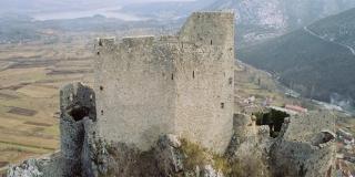 Tvrđava Prozor iznad Vrlike: Turci su je osvojili oko 1520. godine i tamo smjestili sjedište nahije