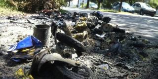 Mladić palio plastične kontejnere po Kaštelima