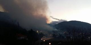 Zbog brojnih požara policija poslala upozorenje