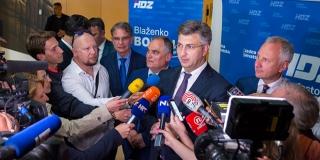 Plenković o Bernardiću: Njegovi bolje da se zapitaju koga su izabrali za predsjednika