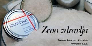 Solana Ramova proizvodi solni cvijet