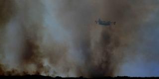 POŽAR NA ŠIBENSKOM PODRUČJU Zahvaćeno 30 hektara površine, gase i kanaderi