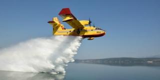Zračne snage HRZ-a gase dva požara