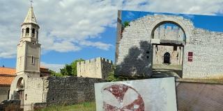 SAKRALNA BAŠTINA OTOKA BRAČA Crkva sv. Ivana Krstitelja u Povljima je jedinstvena na istočnoj obali Jadrana