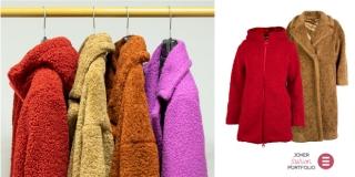 JOKER FASHION PORTFOLIO: Zima je ljepša u toplom zagrljaju teddy kaputa