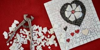 Trogirska umjetnica u Splitu predstavila mozaike od stakla