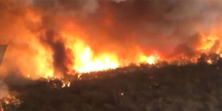 MILNA: Požarište se 'izdimljava', gašenje bilo otežano zbog zaostalih mina