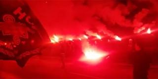VIDEO: Velikom bakljadom svečano otvoren mural u čast hrvatskog branitelja na Mejašima