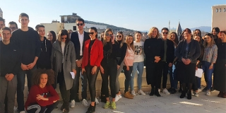 Zastupnica Zovko u Splitu s mladim ambasadorima Europskog parlamenta