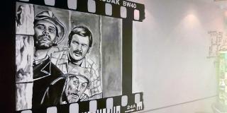 ZALJUBLJENI SERVANTES U kafiću mural u čast kultne scene iz Našeg malog mista