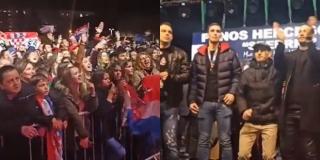 LUDNICA U MOSTARU: Veliki broj navijača dočekao srebrne rukometaše