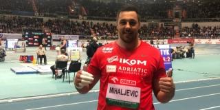 Hrvatski rekorder u bacanju kugle nastupa na finalnom mitingu World Athletics Indoor Toura